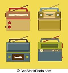 vendange, radio.