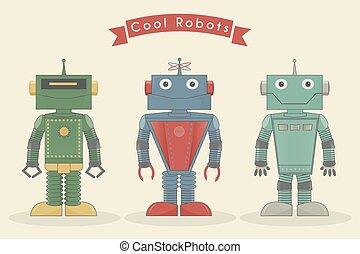 vendange, robots, frais