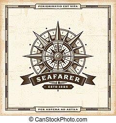 vendange, seafarer, étiquette