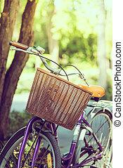 vendange, vélo