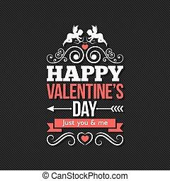 vendange,  valentines, conception, fond, frontière, jour