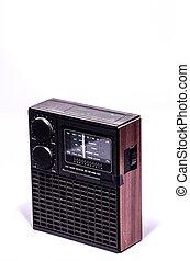 vendange, vieux, retro, radio, 70