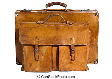 vendange, well-traveled, serviette, valise