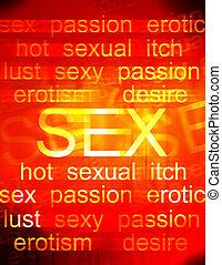 vende, sexo