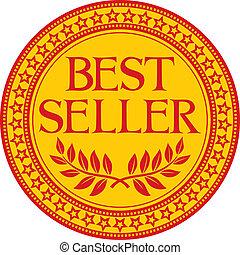 vendedor, (symbol), melhor, sinal