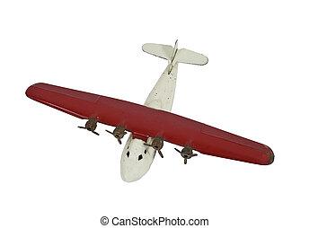 vendemmia, aereo giocattolo