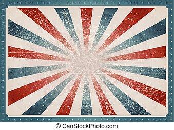 vendemmia, americano, fondo