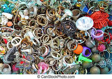 vendemmia, anelli, collezione