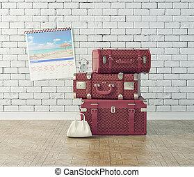 vendemmia, bagaglio