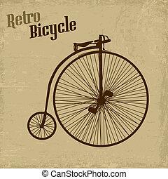 vendemmia, bicicletta, manifesto