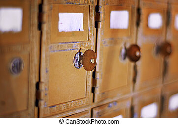 vendemmia, cassetta lettere