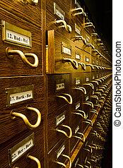 vendemmia, catalogo, vecchio, scheda biblioteca