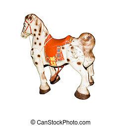 vendemmia, cavallo a dondolo