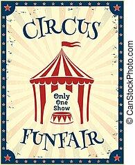 vendemmia, circo, poster.