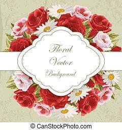 vendemmia, fiori, scheda