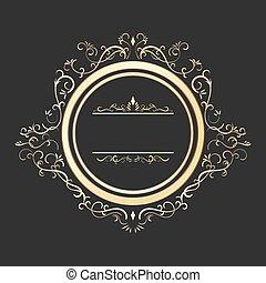 vendemmia, frame., oro