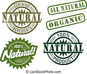 vendemmia, francobolli, naturale