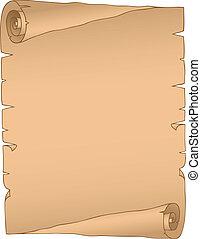 vendemmia, immagine, 2, pergamena