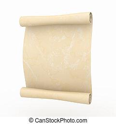 vendemmia, invecchiato, papiro