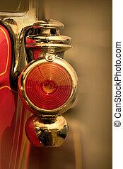vendemmia, lampada, automobile