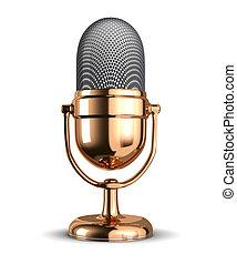 vendemmia, microfono