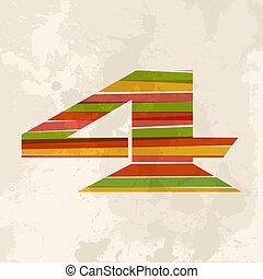 vendemmia, multicolor, numero 4