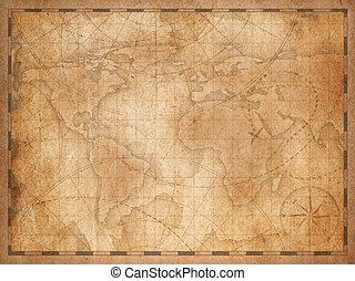 vendemmia, nautico, fondo, mappa