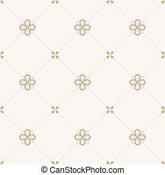 vendemmia, pattern., seamless, fondo, floreale, islam