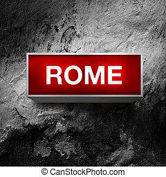 vendemmia, roma, mostra, luce