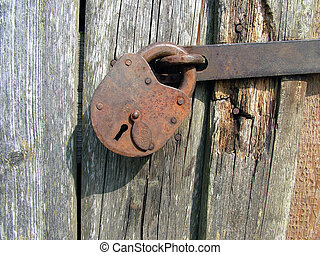 vendemmia, serratura