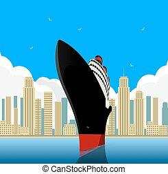 vendemmia, transatlantico, oceano
