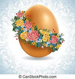 vendemmia, uovo di pasqua