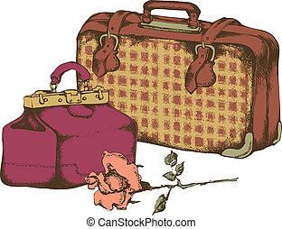 vendemmia, valigie