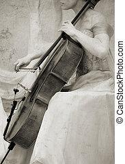 vendemmia, violoncello