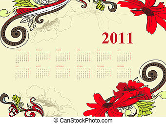 vendimia, 2011, calendario