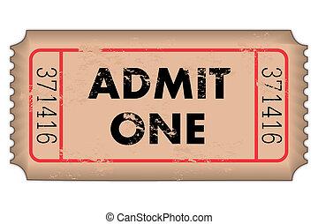 vendimia, admission ticket