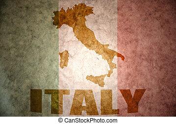 vendimia, bandera, italia