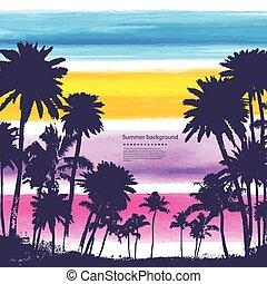 vendimia, banderas, de, isla hawaiana