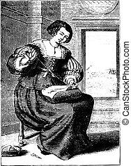 vendimia, bourgeoisie, después, lasne, (seventeenth,...