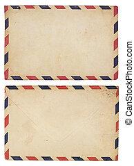vendimia, correo aéreo