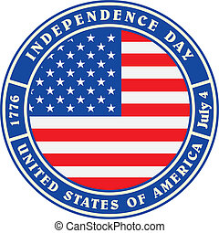 vendimia, día de independencia, estados unidos de américa, etiqueta