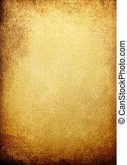 vendimia, dorado, fondo coloreado