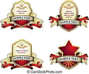 vendimia, emblemas, colección