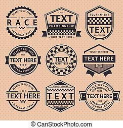 vendimia, estilo, carreras, insignia