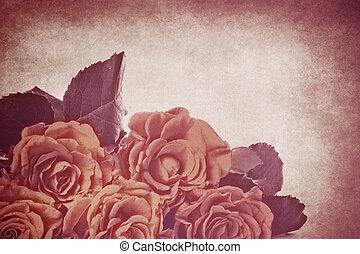 vendimia, flores