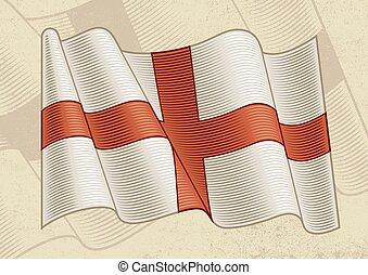 vendimia, inglaterra, bandera