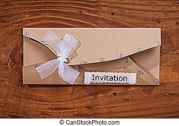 vendimia, invitación, sobre