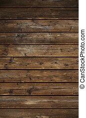 vendimia, madera, tablones