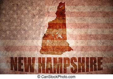 vendimia, mapa nuevo hampshire