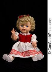 vendimia, muñeca